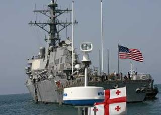 Τα αμερικανικά πλοία δεν προσέγγισαν στο λιμάνι του Πότι
