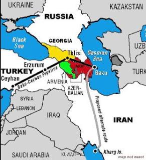 Ο αγωγός Μπακού-Τζεϋχάν και ο πόλεμος στην Νότια Οσετία