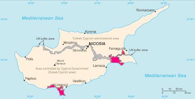 Θαλάσσιες ζώνες και Βρετανικές Βάσεις