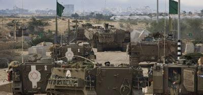 Αποστολή ισραηλινών εφέδρων στη Γάζα