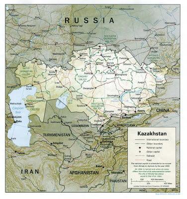 «Ναι» από το Καζαχστάν στη διέλευση στρατιωτικού υλικού των ΗΠΑ