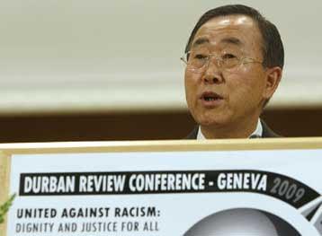 Επιχείρηση διάσωσης της διάσκεψης κατά του ρατσισμού από τον ΟΗΕ