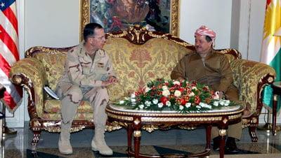 Επίσκεψη του αρχηγού του Μεικτού Γενικού Επιτελείου των ΗΠΑ στο Κουρδιστάν
