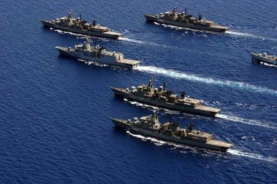 Στο λιμάνι της Θεσσαλονίκης η ναυτική δύναμη Μεσογείου του ΝΑΤΟ