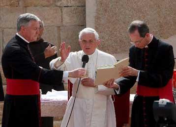 Την «ιδεολογική χειραγώγηση της θρησκείας» κατήγγειλε ο Πάπας Βενέδικτος XVΙ