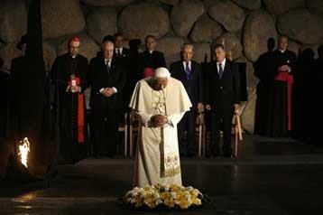 Καταδίκασε την άρνηση του Ολοκαυτώματος ο Πάπας από την Ιερουσαλήμ