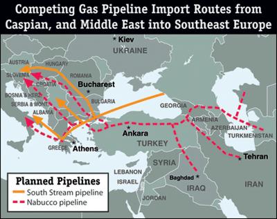 Διπλωματία Αγωγών Φυσικού Αερίου (Φ/Α) προς την Ευρώπη