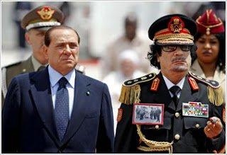Στη Ρώμη ο Καντάφι