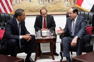 Να καταστήσουν το Ιράκ μία ασφαλή χώρα, δεσμεύτηκαν Ομπάμα και Αλ Μαλίκι