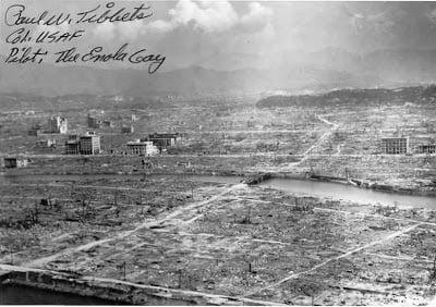 6 Αυγούστου 1945 –   8:15 πμ –  Χιροσίμα 広島市