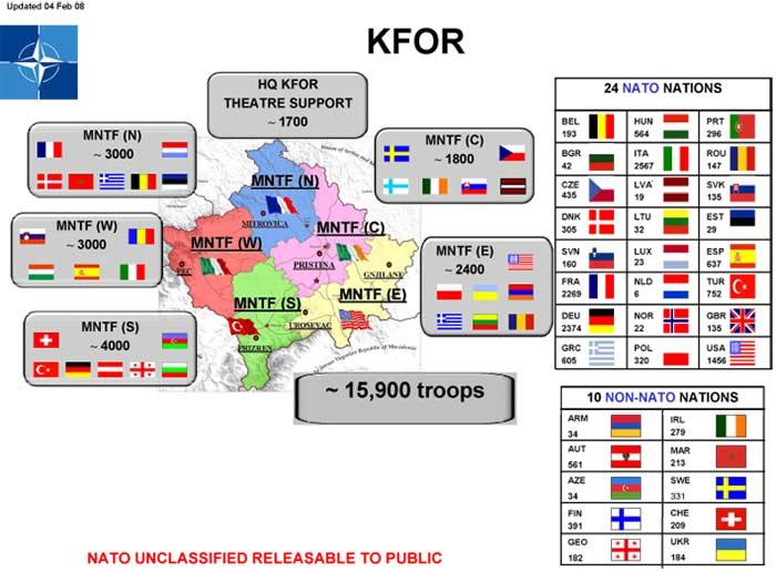 Παραμονή της KFOR στο Κόσοβο