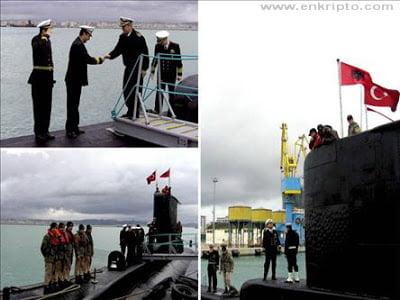 Στο Δυρράχιο της Αλβανίας το πρώτο τουρκικό υποβρύχιο