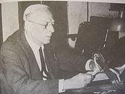 Ο Κώστας Σταυρόπουλος ο πρώτος αρχιεκφωνητής του Ραδιοφωνικού Σταθμού Αθηνών,