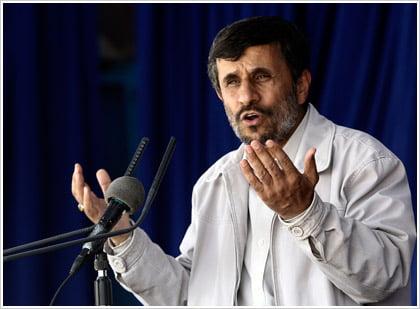 Αδιάλλακτος ο Αχμαντινετζάντ