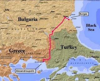 Ρωσοβουλγαρικές επαφές για τον αγωγό Μπουργκάς-Αλεξανδρούπολη