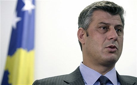 Thaci in the soup