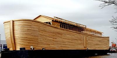 Ολλανδός ναυπήγησε τη Κιβωτό του Νώε