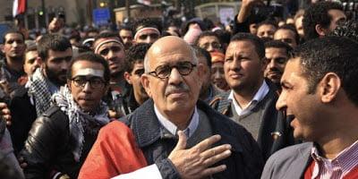 Αίγυπτος: ο Ελ Μπαραντέι προτείνει να ηγηθεί μιας κυβέρνησης εθνικής ενότητας