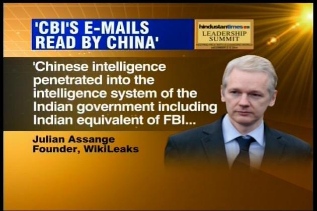 China hacked India's intel network: Assange