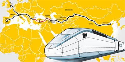 Ευρασιατική Οικονομική Άνθηση και Γεωπολιτική: χερσαία γέφυρα της Κίνας προς την Ευρώπη: η σιδηροδρομική γραμμή υψηλής ταχύτητας Κίνα-Τουρκία