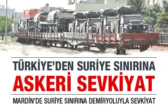 Η Τουρκία παρατάσσει αντιαεροπορικές συστοιχίες στα συριακά σύνορα