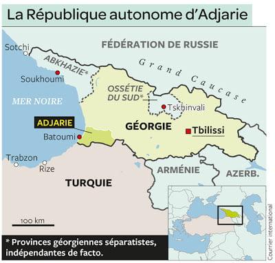 Αυτό το κομμάτι της Γεωργίας που θέλει να κατακτήσει η Τουρκία…    Σας θυμίζει τίποτα;