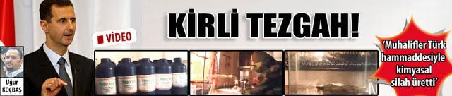 Αποκάλυψη: H Tουρκία πίσω από τα χημικά όπλα τρομοκρατών στη Συρία