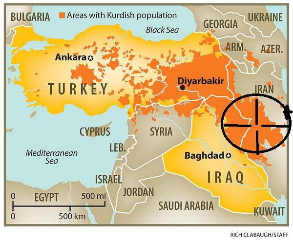Η «μαύρη τρύπα» στο Κουρδιστάν και η επέμβαση στο Ιράν!