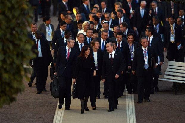 Σε δύο στρατόπεδα η G20 για το θέμα της Συρίας