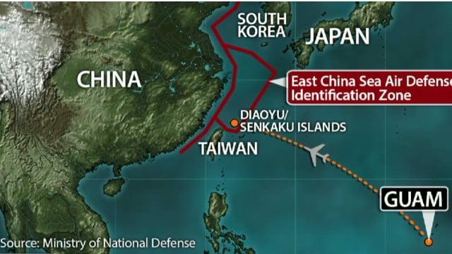 """Κινεζικά πολεμικά αεροσκάφη εστάλησαν για να περιπολούν τη """"ζώνη εναέριου ελέγχου"""" που κήρυξε το Πεκίνο"""