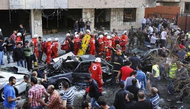 Ποιός ωφελείται από το λουτρό αίματος στη Βηρυτό;