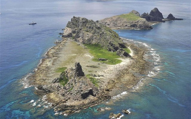 Κινεζικά πλοία εισήλθαν στα χωρικά ύδατα των διαφιλονικούμενων νησιών Σενκάκου