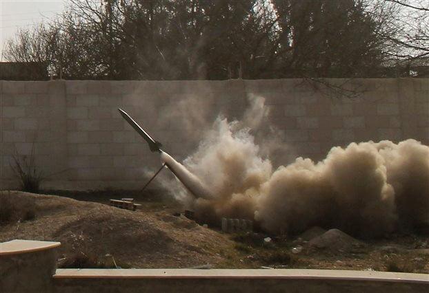 Εκτόξευση πυραύλων στα σύνορα Λιβάνου και Συρίας