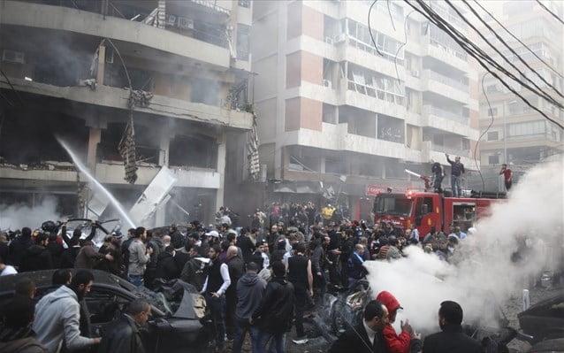 Ισχυρή έκρηξη στη νότια Βηρυτό με πέντε θύματα Σε περιοχή – προπύργιο της Χεζμπολάχ