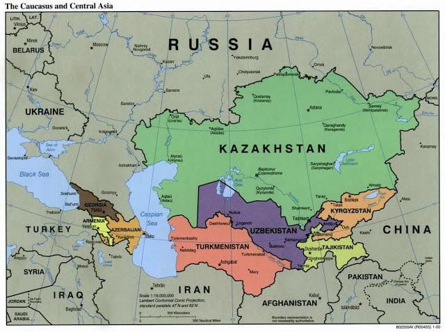Οργανωμένο έγκλημα στο Καύκασο και τη Κεντρική Ασία