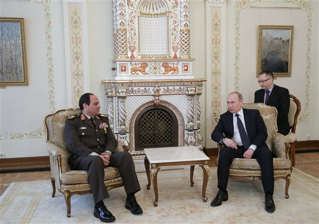 Αίγυπτος: Αγοράζει ρωσικά όπλα και πληρώνει η Σαουδική Αραβία