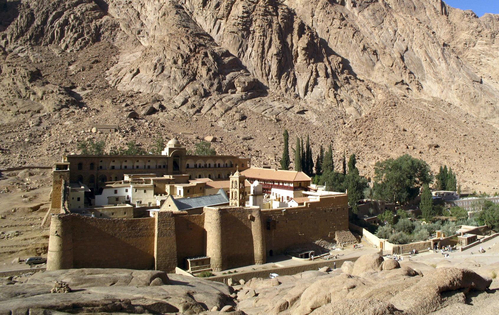 Μεγάλος κίνδυνος για τον μοναστήρι της Αγίας Αικατερίνης  του Σινά