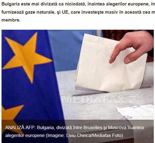 Η Βουλγαρία διαιρεμένη μεταξύ Μόσχας και Βρυξελλών ενόψει των ευρωεκλογών