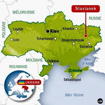 Μα τι δουλειά έχει ο γερμανικός στρατός στο Σλάβιανσκ;