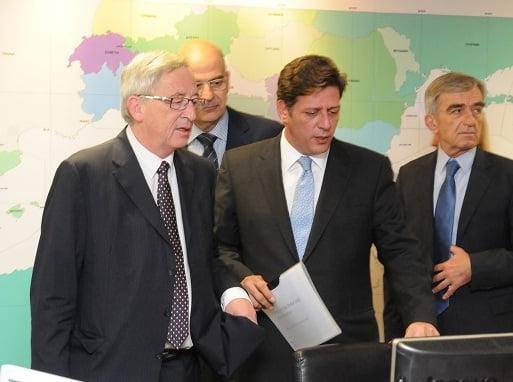 Επίσκεψη Γιουνκέρ στο Υπουργείο Ναυτιλίας και Αιγαίου