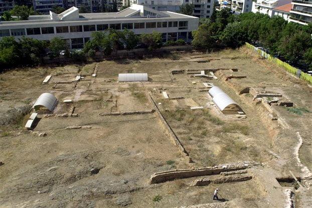 Εγκαινιάστηκε ο αρχαιολογικός χώρος του Λυκείου του Αριστοτέλη