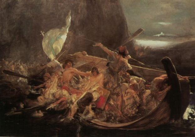 Γιορτή Μπουρλότου για τα 190 χρόνια από την Καταστροφή των Ψαρών