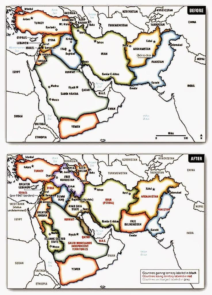 Η Ουάσιγκτον ανακινεί το σχέδιο κατάτμησης του Ιράκ