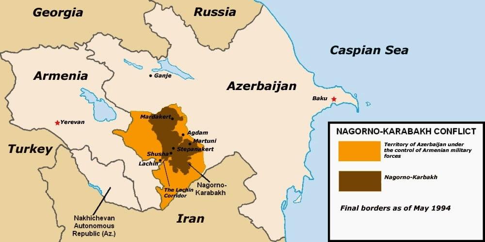 Ισορροπία ισχύος Αρμενίας και Αζερμπαϊτζάν πριν την επόμενη σύγκρουση