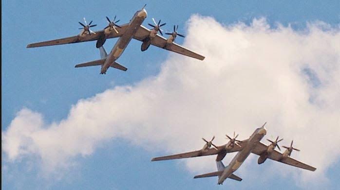 Ρωσικά βομβαρδιστικά πάνω από την Καλιφόρνια