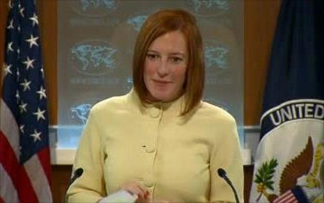 Ρωσική μηχανή προπαγάνδας καταγγέλλει η εκπρόσωπος του Στέιτ Ντιπάρτμεν
