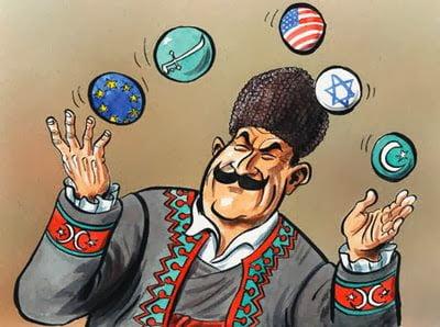 Η πολυδιάστατη εξωτερική πολιτική τής Τουρκίας