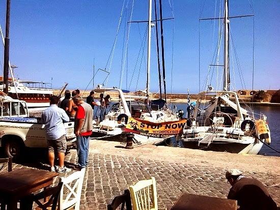 Κρήτη: 'Ελυσαν κάβους τα κρητικά πλοία με ρότα το Cape Ray… (φωτογραφίες)