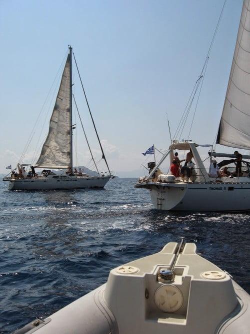 Επιστρέφουν στην Παλιόχωρα και τα άλλα δύο σκάφη της αποστολής για το Cape Ray
