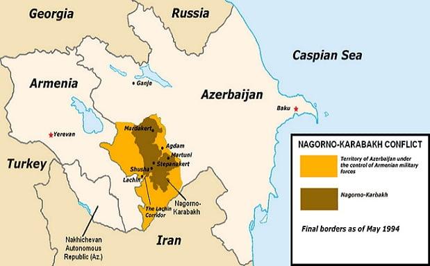 Ένοπλη σύγκρουση στα σύνορα Αρμενίας-Αζερμπαϊτζάν: Οκτώ Αζέροι στρατιώτες νεκροί